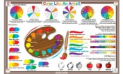 Placemat - Tot Talk - Colour Like an Artist Meal Dinning Kid Learning Mat tot1049