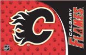 Calgary Flames NHL Logo Durable Pet Mat Placemat