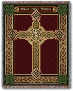 Celtic One Hundred Thousand Welcomes Throw Blanket USA Made