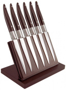Laguiole Evolution Expression Steak Knives with Forged Bolster and Handle, Set of 6