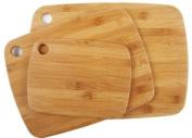 Core Bamboo 10488AM  Bamboo Cutting Board Set, 3-Piece