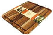 Madeira Mario Batali M-05 Edge Grain Teak Carving Board, X-Large