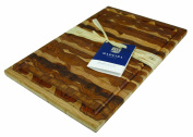 Madeira 1030 Canary Teak End-Grain Carving Board, Large