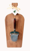 Out of the Woods of Oregon Large Wine Bottle Board with Walnut Cheese Planer