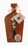 Out of the Woods of Oregon Mini Wine Board with Olives Spreader