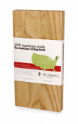 J.K. Adams Ash Wood American Collection Cutting Board, 50.8cm by 25.4cm