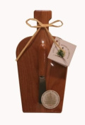 Out of the Woods of Oregon Mini Wine Bottle Board with Alder Spreader