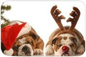 Bull Dog Holiday Cutting Board
