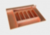 Trimmable Wood Silverware Tray Organiser, 26-1.9cm x 55.9cm