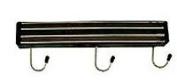 NEW, 33cm Long Wall-Mount Magnetic Knife Holder, Wall-Mount Tool Holder, Magnetic Knife Strip, w/Three (3) Hanging Hooks