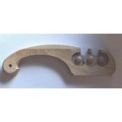 Mcgowan Firestone Curve Wood Handle 3-Stone Knife Sharpener