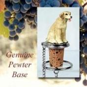 Labrador Retriever Yellow Wine Bottle Stopper