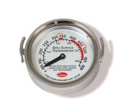 Cooper 3210-08 Surface Grill Thermometer, Dial, 50 - 300 degrees, NSF