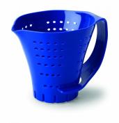 Chef's Planet 2 Cup Measuring Colander, Blue
