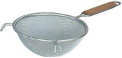 Browne Foodservice 8099 Fine Double Mesh Strainer with Wood Handle, 27.3cm