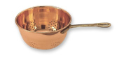 Old Dutch Decor Copper Hanging Colander with Brass Handle, 26.7cm by 15.2cm