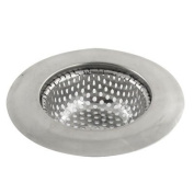 Home Kitchen Stainless Steel Basket Drain Sink Strainer