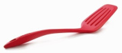 Orka All Silicone Slotted Turner, Red