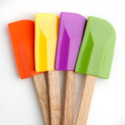 Cook's Corner 4-Piece Spatula Set - Bold Colours