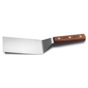 Dexter Russell S8696 Wood Handle 15cm x 7.6cm Offset Hamburger Turner