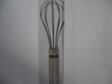 Pampered Chef Stainless/silicone Sauce Whisk