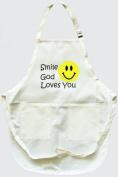 Apron - Smile God Loves You