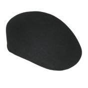 Black Felt Ascot Hat