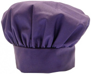 Phoenix Chef's Hat with hook and loop Close, Purple