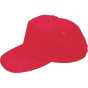 Lightweight Baseball Cap Red. One size with adjustable strap.