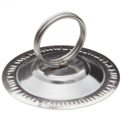 Adcraft LCH-2 Stainless Steel Ring Clip Card and Menu Holder