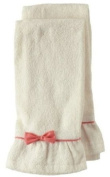 Jessie Steele Terry Towel Set with Pink Bow, Natural