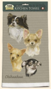 David Kiphuth Dog Breed Kitchen Towel-- Chihuahua