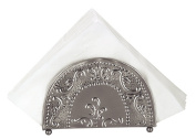 Old Dutch Antique Embossed Victoria Napkin Holder, 7-1/4 by 5.1cm by 14cm