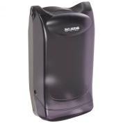 San Jamar H5003P Venue Wall Mount Interfold Napkin Dispenser, 600 Capacity, 20.3cm Width x 15-1.9cm Height x 7-1.9cm Depth, Black Pearl