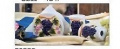 Amadora white grape Napkn holder & Shakers