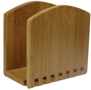 Bamboo Adjustable Napkin Holder