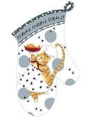 Happy Cat Oven Mitt