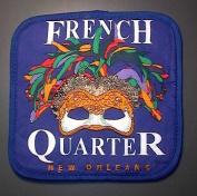New Orleans French Quarter Mardi Gras Mask Pot Holder