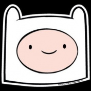 Adventure Time Finn Head Magnet