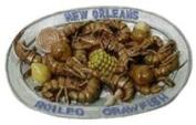 New Orleans 3d Boiled Crawfish Magnet