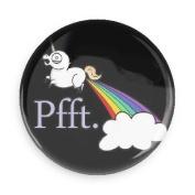 Funny Magnets; Unicorn Fart Rainbows Pfft. 7.6cm Refrigerator Magnet
