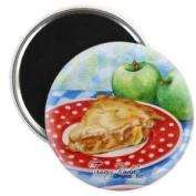 Apple Pie Dessert Original Art 5.7cm Fridge Magnet