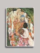 Gustav Klimt Death and Life Refrigerator Magnet