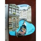 Venice Gondolas Italy Italian Canals Europe Thai Magnet Hand Made Craft