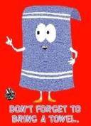 South Park Don't Forget Towel Magnet SM1105