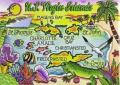 U.S.Virgin Islands Caribbean Fridge Collector's Souvenir Magnet 6.4cm X 8.9cm