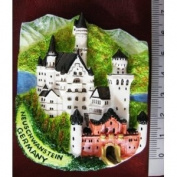 Neuschwanstein Castle Germany Europe High Quality Resin 3D fridge Refrigerator Thai Magnet Hand Made Craft