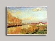Claude Monet Vanilla Sky Refrigerator Magnet