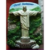 Christ the Redeemer Brazil Statue Thai Magnet Hand Made Craft