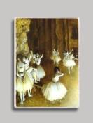Degas Dance Rehearsal Refrigerator Magnet